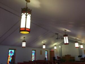 Vintage  church ceiling lights