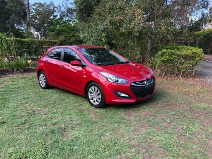 2013 Hyundai i30 GD Active Red 6 Speed Manual Hatchback Capalaba Brisbane South East Preview