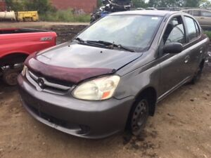 2003 Toyota Echo just in for parts at Pic N Save!
