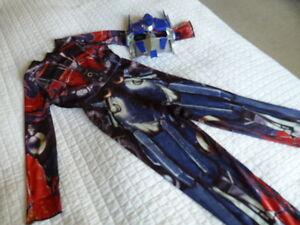 Size 4 Transformers Optimus Prime Costume