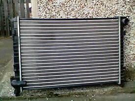 Mini cooper radiator