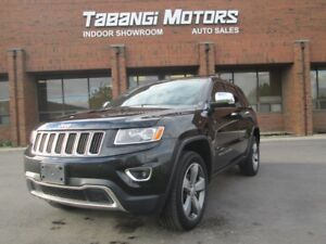 2015 Jeep Grand Cherokee LIMITED | 4X4 | NAVIGATION | SUNROOF |