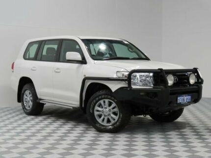 2009 Toyota Landcruiser VDJ200R 09 Upgrade GXL (4x4) White 6 Speed Automatic Wagon Atwell Cockburn Area Preview