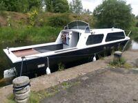 Dawncraft Sunseeker 27 foot Cabin Cruiser Boat for sale