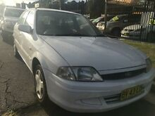2000 Ford Laser KN GLXi White 5 Speed Manual Hatchback Wickham Newcastle Area Preview