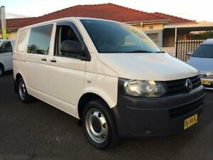 2013 Volkswagen Transporter T5 MY13 TDI 400 SWB Low White 7 Speed Automatic Van Kooragang Newcastle Area Preview