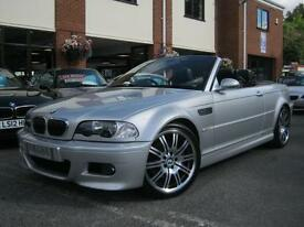 2002 52-Reg BMW M3 Convertible,GENUINE 62,000 MILES,YES 62,000 MILES MUST SEE!!!