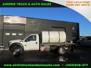 2011 Ford Super Duty F-450 DRW XLT Huge Fuel Tank!
