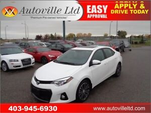 2014 Toyota Corolla SPORT LEATHER BCAM