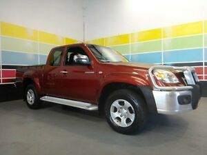 2009 Mazda BT-50 08 Upgrade B3000 Freestyle SDX (4x4) Burgundy 5 Speed Automatic Wangara Wanneroo Area Preview