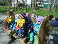 Stroller wagon carriage for daycare garderie up to 10 children