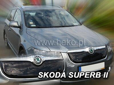 HEKO Winterblende für Frontgrill Grillblende SKODA SUPERB II 4/5-tür 08-13 02069 ()