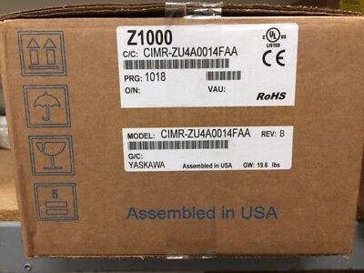New In Box - Yaskawa Cimr-zu4a0014faa Variable Speed Drive 480v 10hp Z1000