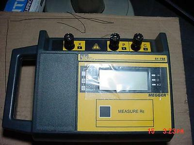 Ideal 3 Pole Megger Earth Resistance Tester Model 61-788 Wideal 61-798 Kit