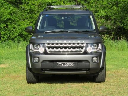 2016 Land Rover Discovery Series 4 L319 MY16.5 TDV6 Grey 8 Speed Sports Automatic Wagon Hahndorf Mount Barker Area Preview
