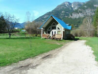 House for rent August 1, 15 minutes outside of Nelson