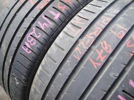 235/35/19 Pirelli P Zero Rosso x2 A Pair, 5.5mm (454 Barking Rd, Plaistow, E13 8HJ) Partworn Tyres