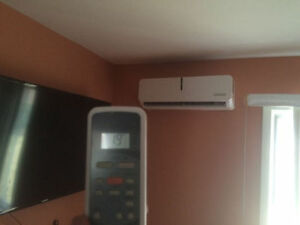 THERMOPOMPE CLIMATISEUR MURAL WALL UNIT HEAT PUMP AIR CONTIDIONT