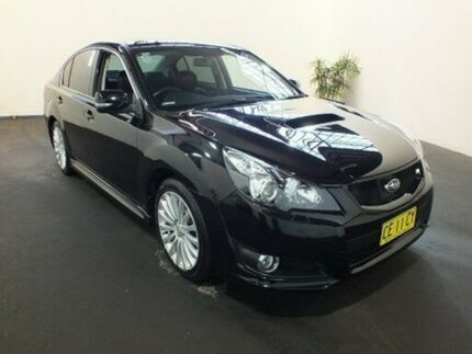 2010 Subaru Liberty MY10 2.5I GT Premium Black 5 Speed Automatic Sedan Clemton Park Canterbury Area Preview