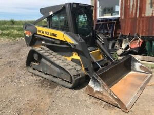 2007 New Holland C185 Compact Track Loader