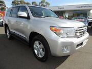 2014 Toyota Landcruiser VDJ200R MY13 Sahara Silver 6 Speed Sports Automatic Wagon Oakleigh Monash Area Preview