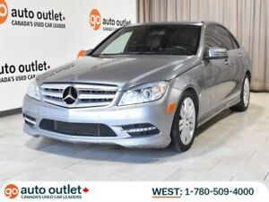2011 Mercedes Benz C-Class C 250 AWD; Leather Heated Seats