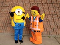 Mascot Costume Birthday Parties & Rentals