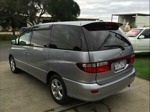 2001 Toyota Estima AERAS ACR30 Silver 4 Speed Automatic Wagon Brooklyn Brimbank Area Preview