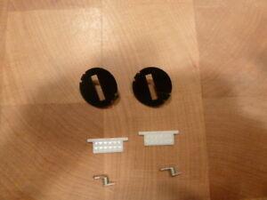 FD3S RX7 door lock dust shutter rebuild kits - black fascia plate