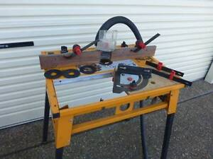 Triton Router Table and Accessories New Lambton Newcastle Area Preview
