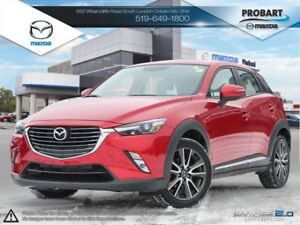 2016 Mazda CX-3 | GT | AWD | Leather| Moonroof | Bose Audio