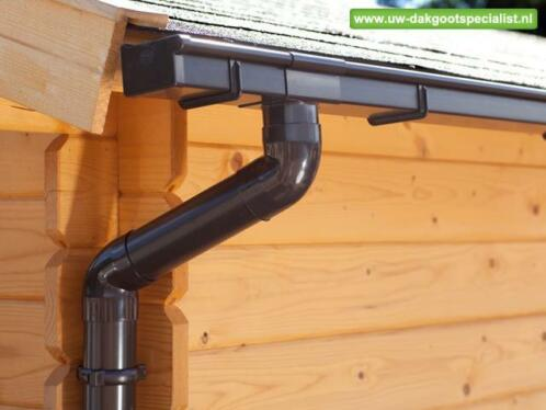 Super ≥ Tuinhuis of blokhut voorzien van een dakgoot(set) [dakgoten MU35