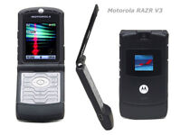 Motorola Razr V3 flip cell phone - NEW, UNLOCKED!!!