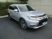 2017 Mitsubishi Outlander ZK MY17 LS 4WD Silver 6 Speed Constant Variable Wagon Devonport Devonport Area Preview