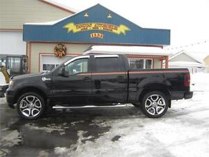 FORD F-150 HARLEY-DAVIDSON 2008 4X4  * TOIT OUVRANT * CUIR ,GPS