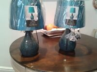 matching pair of lamps glass mosaca glass new wavertree where 29.00 each 15.00 the pair wavertree