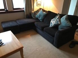 3 Seater Chaise longue & 2 seater settee
