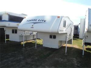 2013 Travel Lite 890RX Truck Camper with Bathroom