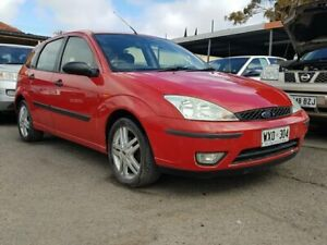 2003 Ford Focus LR MY2003 CL Red 4 Speed Automatic Hatchback Blair Athol Port Adelaide Area Preview