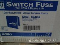 Brand New - Switch Fuse TP&N 41V - Excel Cond.