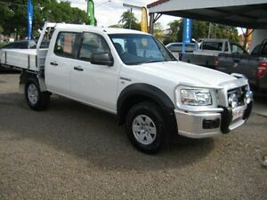2008 Ford Ranger PJ XL Crew Cab White 5 Speed Manual Woodend Ipswich City Preview