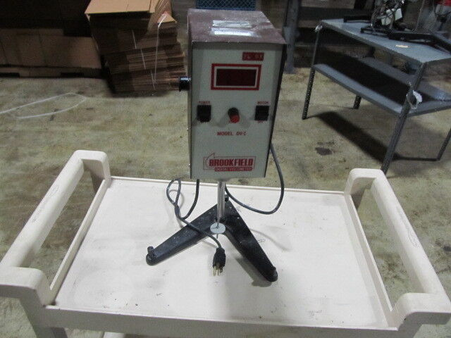 Brookfield RVTD Digital Viscometer Used