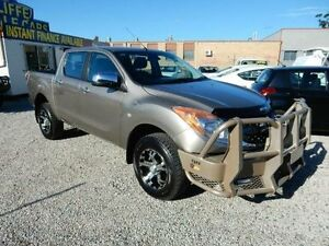 2015 Mazda BT-50 UP0YF1 GT Gold 6 Speed Manual Utility Kippa-ring Redcliffe Area Preview