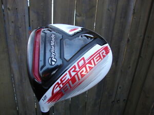 Left hand driver Taylormade model Aero Burner