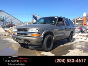 Finance available !safetied 2003 Chevrolet Blazer LS 4wd