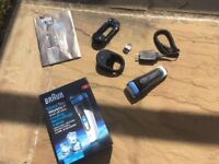 Electric Shaver, Braun Cool-Tec CT2s-w, as new