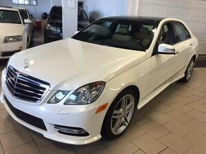 2013 Mercedes-Benz E-Class E350 4-Matic Premium with AMG Package
