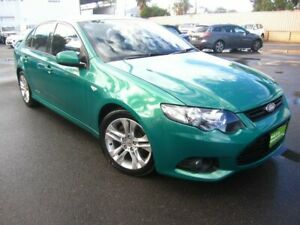 2012 Ford Falcon FG MkII XR6 Green 6 Speed Sports Automatic