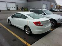 2012 HONDA CIVIC LX,,AUTOMATIQUE...46,000 KM