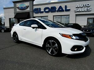 2014 Honda Civic Si Coupe 6-Speed MT LOW KM.